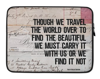 Find the Beautiful | Laptop Sleeve