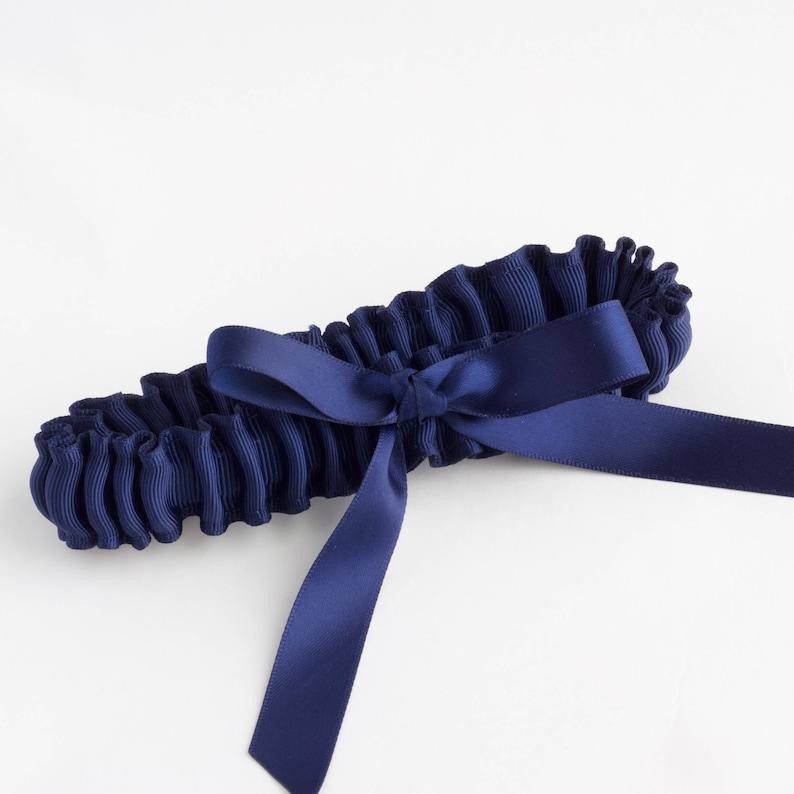 Grosgrain garter set