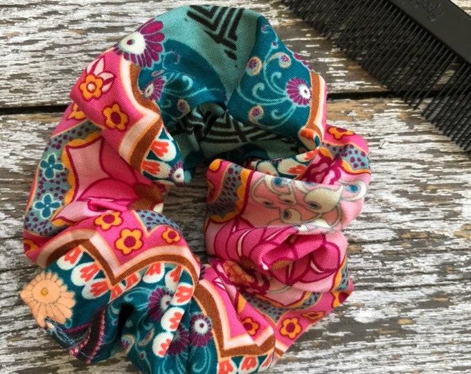 Boho Hair Scrunchie/Hair Tie/Hair Elastic/Hair Accessories/Hair Scrunchie/Scrunchie