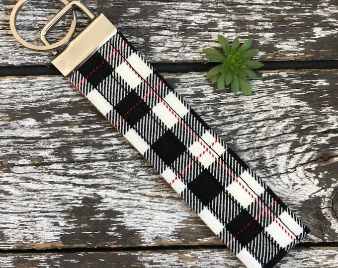 Comfort & Joy Key Fob/Key Chain/Fabric Key Fob/Key Ring/Luggage Tag/Stocking Stuffer/New Driver Gift/Bag Tag/Keyring/Wristlet