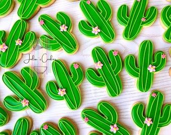 Cactus cookies/Arizona/cactus/AZ/Arizona/desert/custom cookies/cookies/sugar cookies
