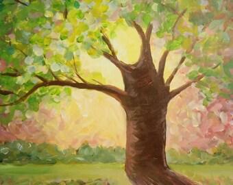 Spring Sunrise at the Honey Tree/Four Seasons