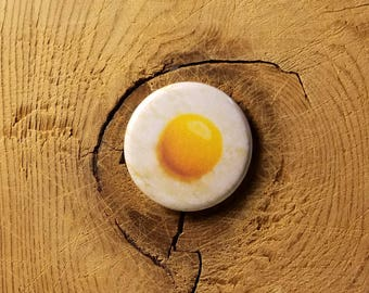14ce1b0b43b Sunny Side Up (Pinback Button or Magnet)
