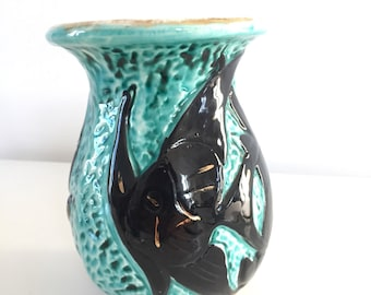 Vallauris fish vase