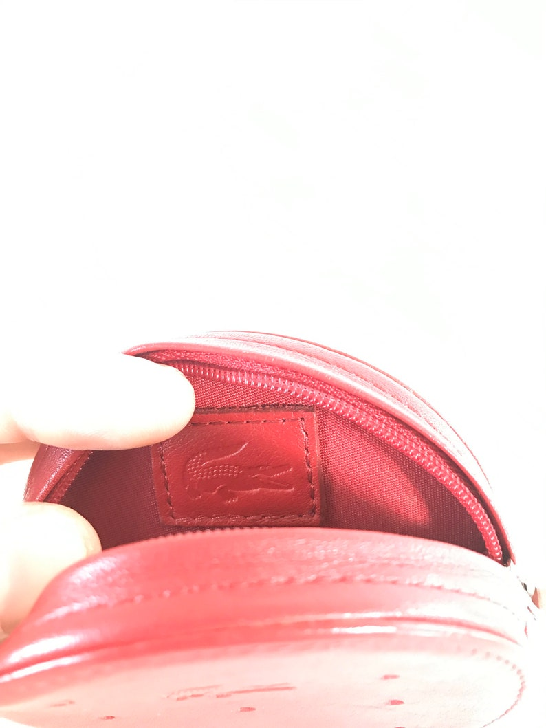 Lacoste leather coin holder