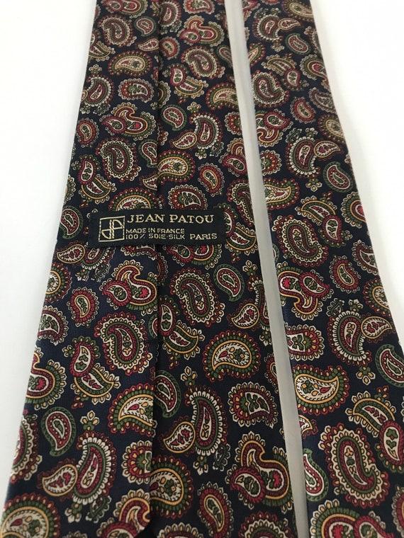 Jean Patou vintage tie