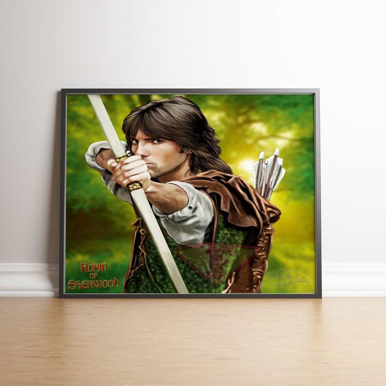 Robin of Sherwood Michael Praed Digital Art Fanart image 0