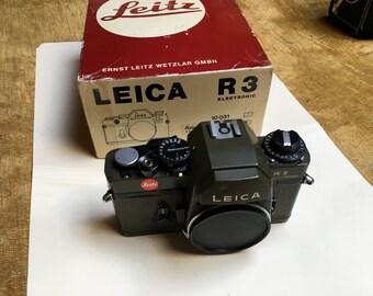 LEICA R3 Original box