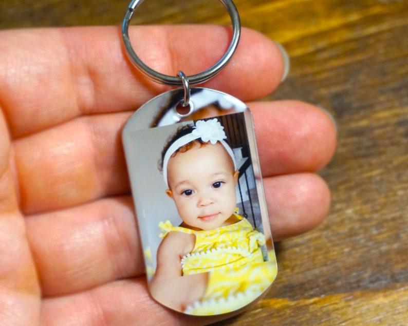 Fathers Day Gift  Dad Keychain Key Chain Keychains Key image 0