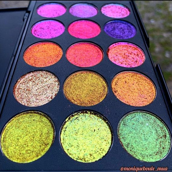 Multichrome Vegan Eyeshadow Palette by Etsy