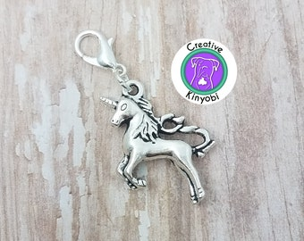 GRAPHICS /& MORE Burro Small Donkey Antiqued Bracelet Pendant Zipper Pull Charm with Lobster Clasp