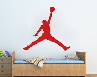 More colors. Michael Jordan Wall Decal ... & Sports wall decal   Etsy