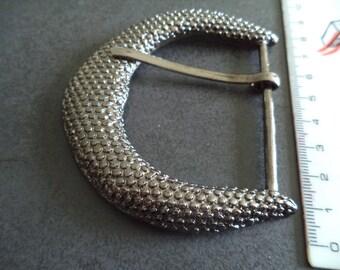 fancy silver metal belt buckle