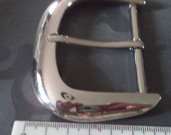 width 6 cm from new silver metal belt buckle