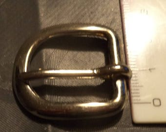 width from 2 cm new silver metal belt buckle