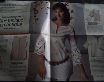 tunic pattern size 36-40-44 new uncut