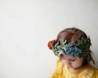 Succulent wreath / Blueberry