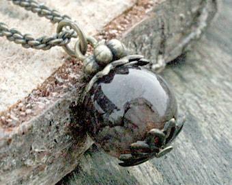 Quartz Necklace | Smokey Quartz | Smoky Quartz | Gemstone Necklace | Birthstone Necklace | Healing Stones | Reiki Necklace | Boho Necklace