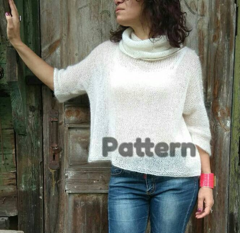 Sweater KNIT PATTERN for Women