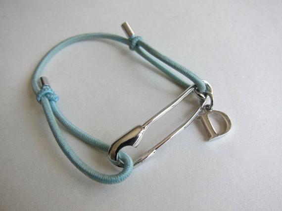 Christian Dior vintage, nanny pin bracelet. Signed