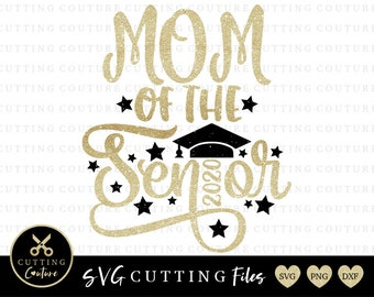 Senior Mom 2020 Svg Etsy