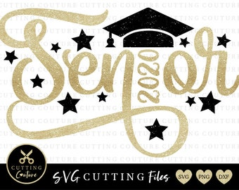 Senior 2020 Svg File Etsy