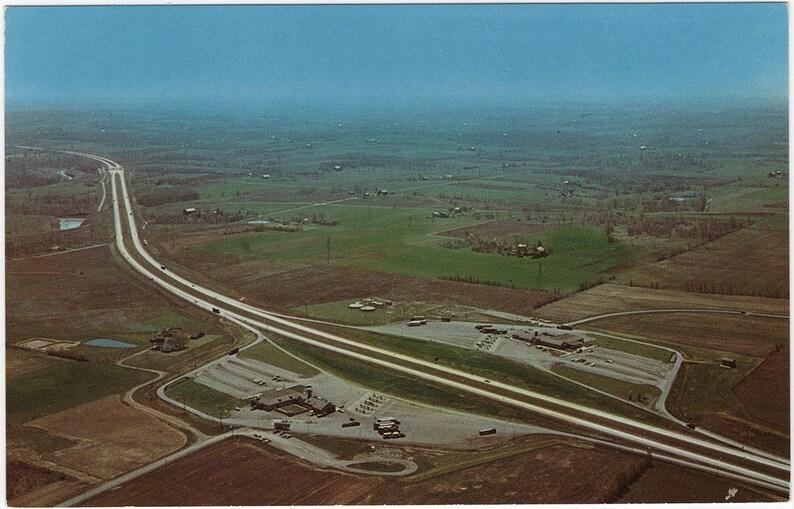 ON SALE! Ohio Turnpike, Youngstown, Ohio Vintage Postcard Unused