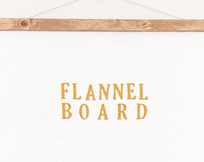 Featured listing image: Flannel Board (Felt Board)