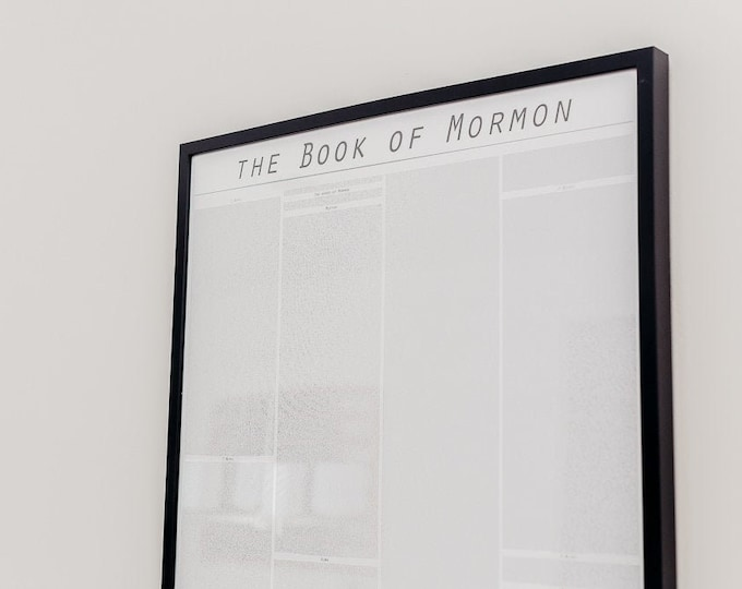 Featured listing image: The Book of Mormon poster