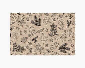 Woodland Paper Placemats - 10PK