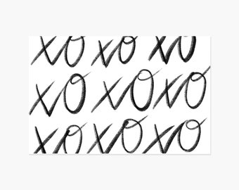XOXO Paper Placemats - 10PK