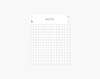 Grid Notepad (Modern)