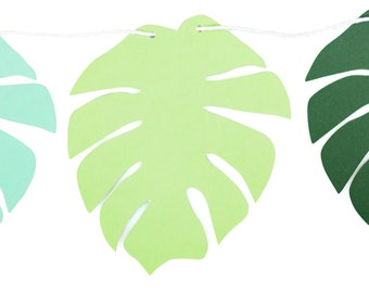 Palm Leaf Banner