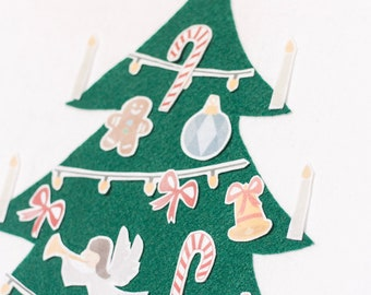 Christmas Tree Felt Kit