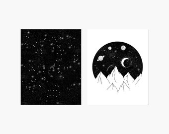 Night Sky Bundle Prints