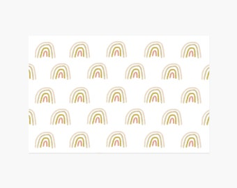 Rainbow Paper Placemats - 10PK