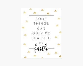 Learned by Faith