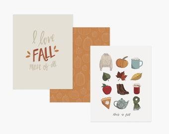 Fall Bundle Prints