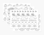 Printable Thanksgiving Coloring Placemats