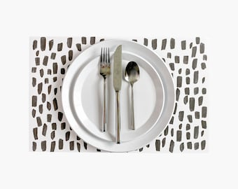 Spotted Paper Placemats - 10PK