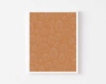 Pumpkin Patch Print