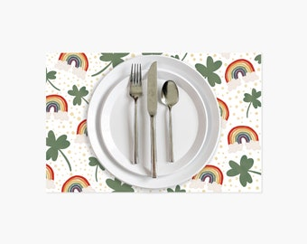 St. Patrick's Day Paper Placemats - 10PK