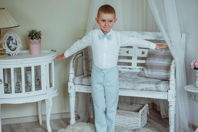 d26bef916 Baby boy pants Baby boy clothes Toddler boys linen pants Baby | Etsy