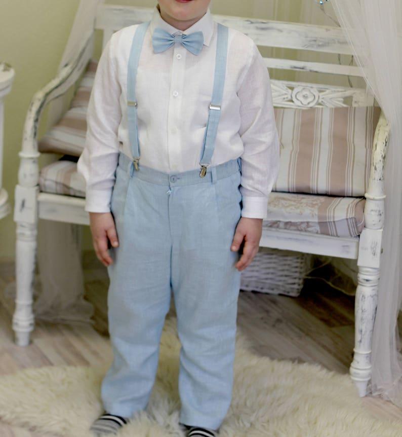 70f66c1d0 Boys linen pants Baby boy clothes Toddler boys linen pants | Etsy