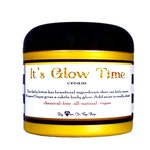 IT'S GLOW TIME! All natural, skin and stretch mark repairing, shimmer glow total body lotion- 4oz - Subtle for daytime, sexy for nighttime!