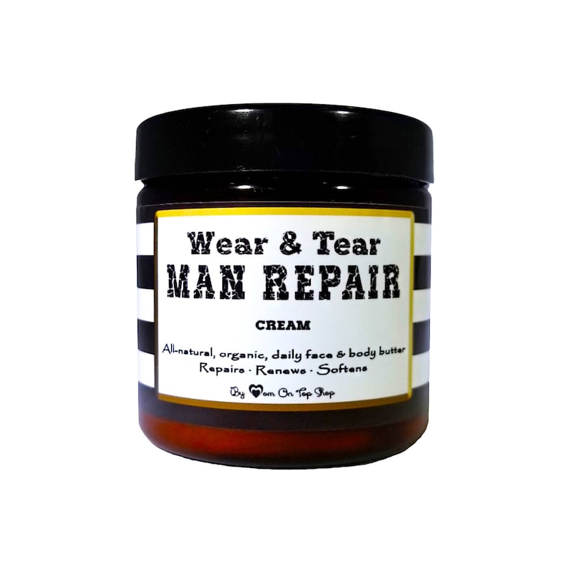 MAN REPAIR cream  Organic face and body butter because men image 0