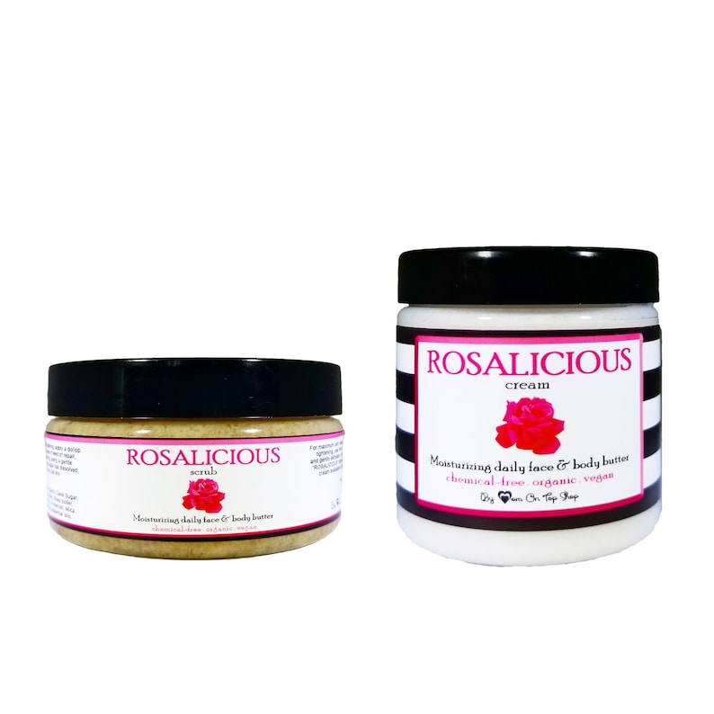 SAVE BIG ROSALICIOUS  Use daily scrub then image 0