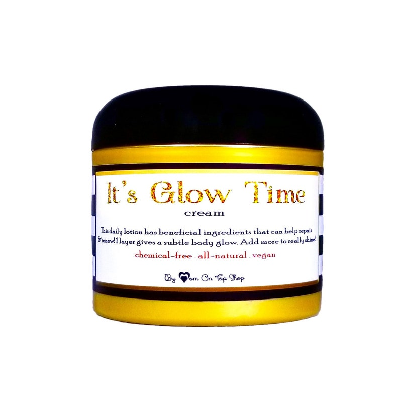IT'S GLOW TIME All natural skin and stretch mark image 0