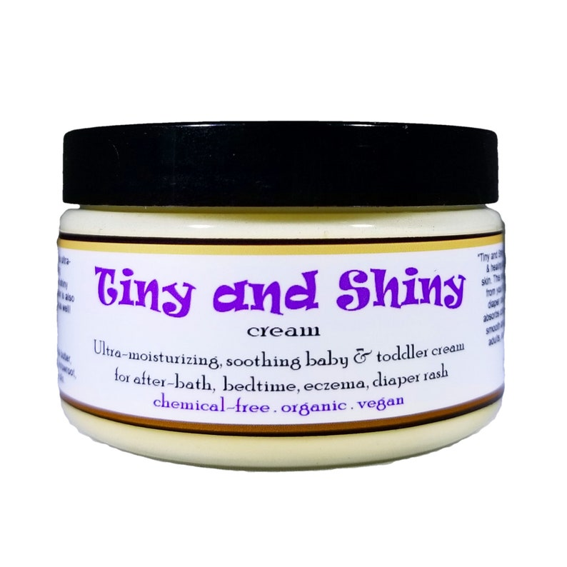 TINY AND SHINY Organic all-natural soothing baby lotion for image 0