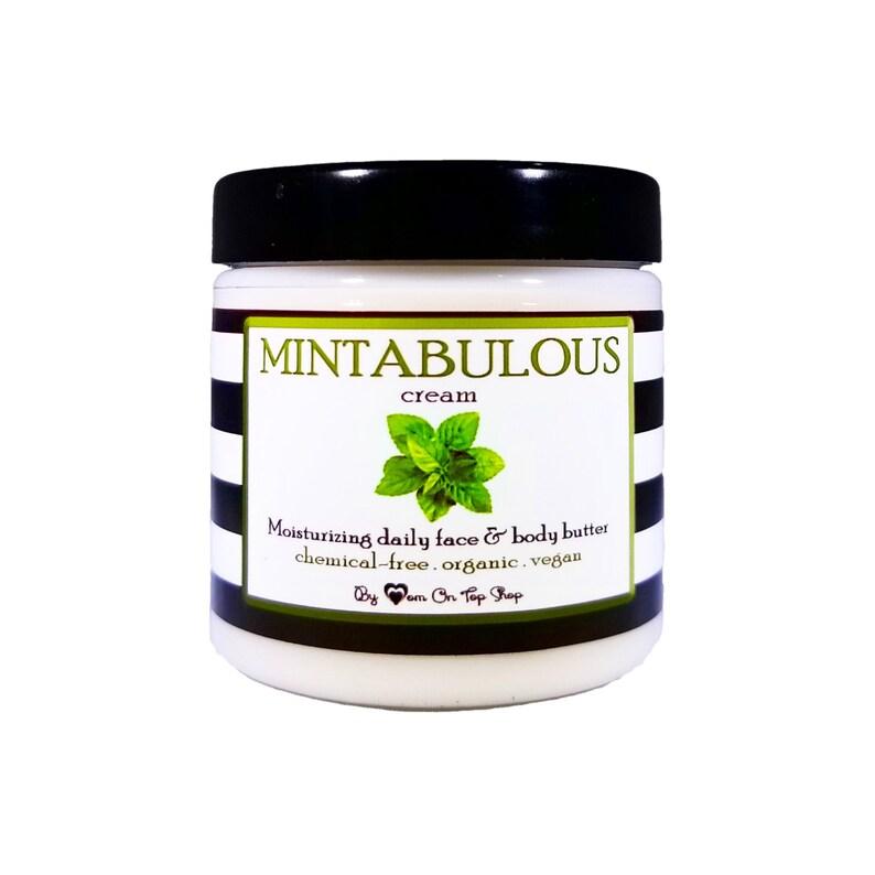 Ultra-moisturizing MINTABULOUS cream  Daily organic face & image 0